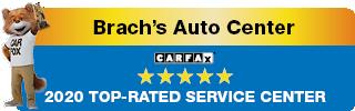 Congratulations Brach's Auto Center, you're a CARFAX 2020 Top-Rated Service Center!